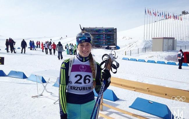 Фото: Дмитренко пропустивши вперед тільки біатлоністку з Франції