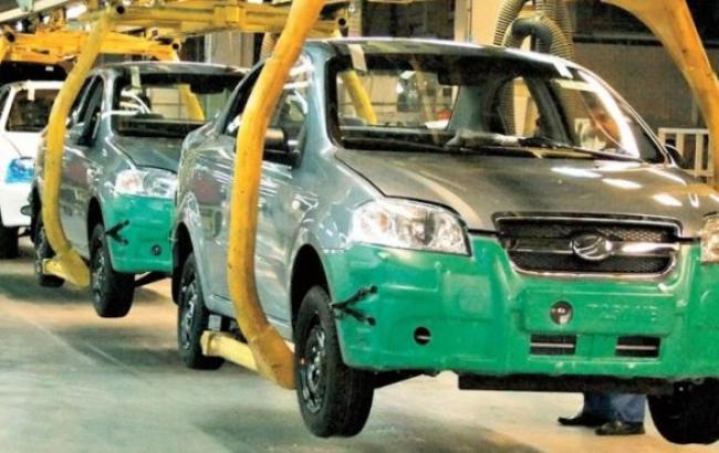 Виробництво легкових авто в Україні в жовтні 2014 р. знизилося на 76% - до 1,1 тис. штук, - Держстат