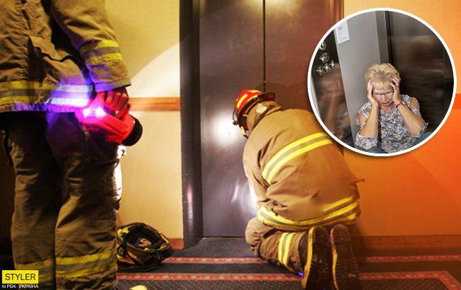 Неудачный уикенд: женщина просидела трое суток в сломанном лифте