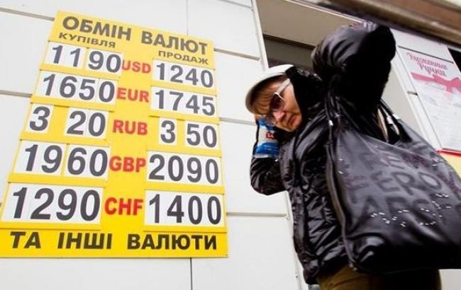 Курс доллара в обменниках в