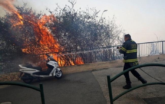 Фото: пожежа в Ізраїлі
