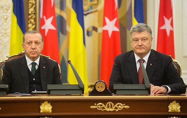 Фото: Петр Порошенко и Реджеп Тайип Эрдоган (president.gov.ua)