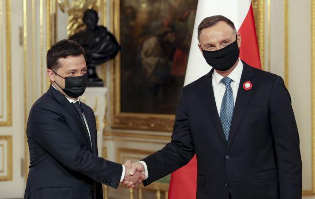 Дуда та Зеленський підписали декларацію про європейську перспективу для України