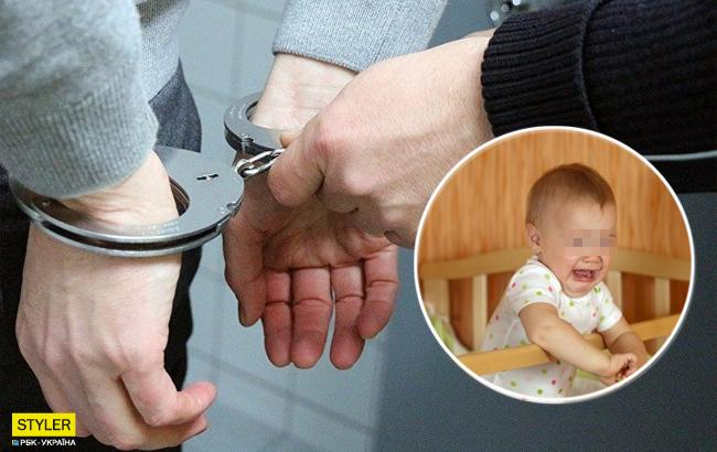 Щоб не плакав: в Дніпрі батько побив восьмимісячного сина