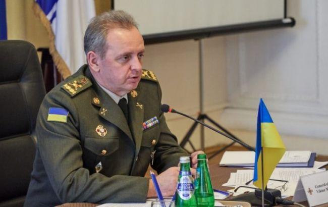 Огневой ответ у ВСУ в разы меньше интенсивности обстрелов противника, - Муженко