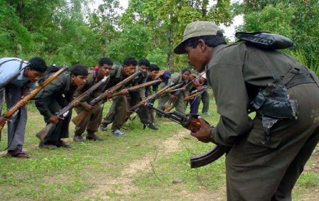 Фото: у таборі перебувало 40 повстанців