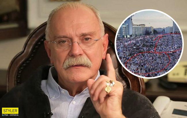 Міхалков зганьбився через протести у Білорусі: заберіть в діда камеру
