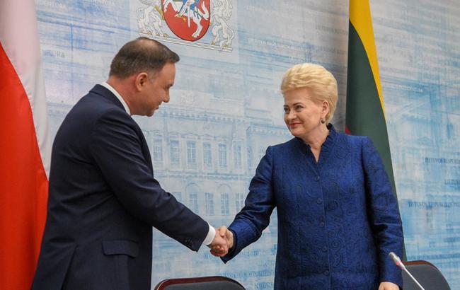 Президенти Литви і Польщі обговорять підтримку України в НАТО і ЄС