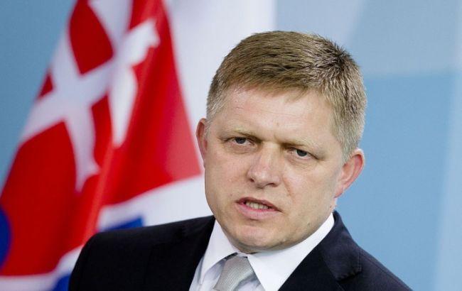 Фото: прем'єр Словаччини Роберт Фіцо