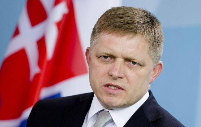 Фото: премьер Словакии Роберт Фицо