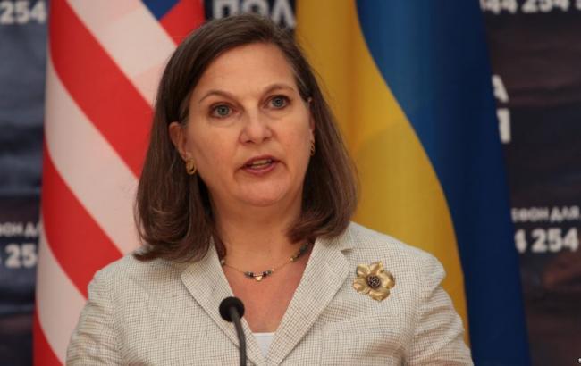 Фото: помощник госсекретаря США Виктория Нуланд
