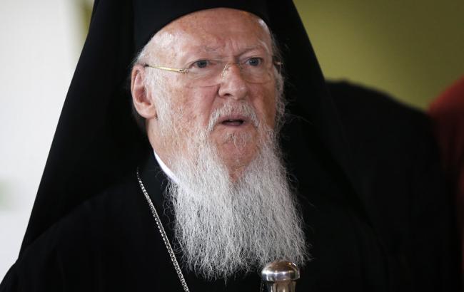 Фото: патріарх Варфоломій відвідає Україну
