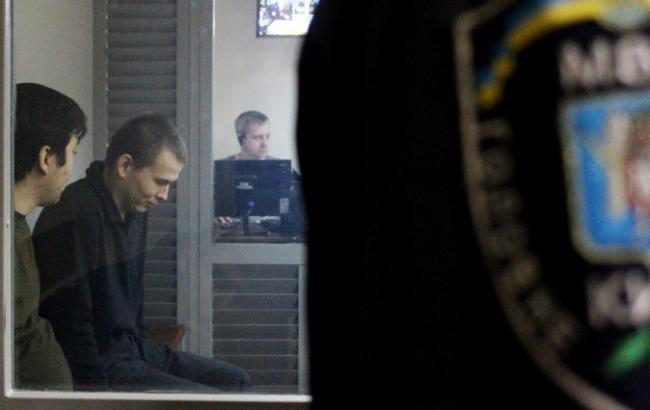 Фото: заседание суда над ГРУшниками
