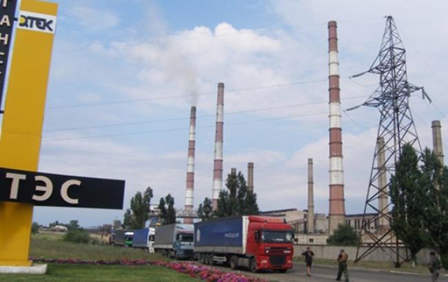 Луганская ТЭС может оказаться под угрозой захвата боевиками, - СНБО
