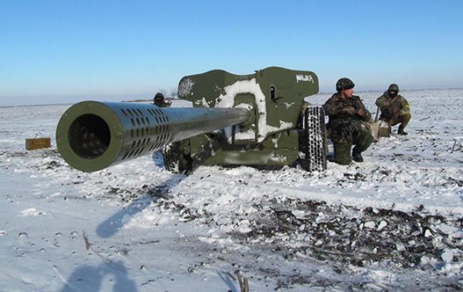 Сили АТО відбили наступ бойовиків в районі Станиці Луганської та Дебальцевого, - штаб
