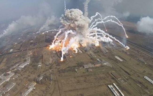 В Балаклії в п'ятницю ввечері ще були чутні вибухи