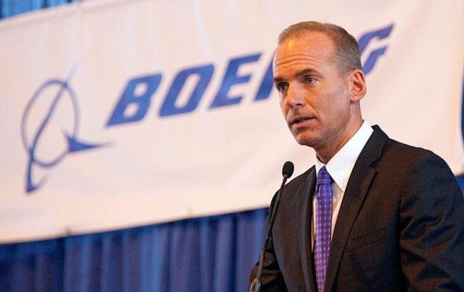 Фото: виконавчий директор Boeing Денніс Муїленберг