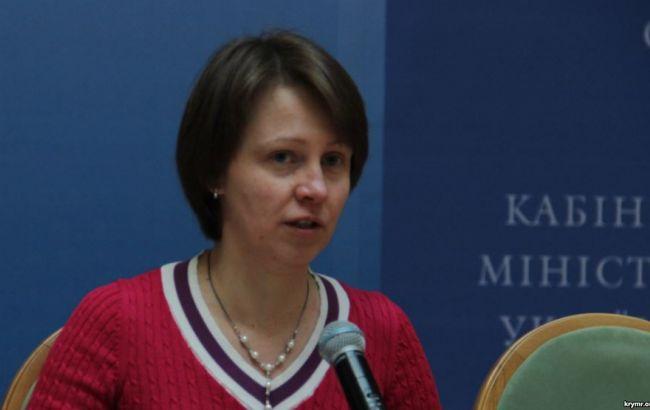 Министр Стець представил своего нового советника поКрыму Каздобину
