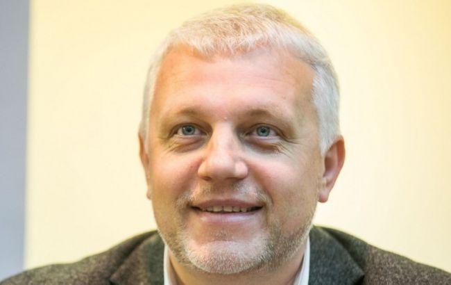 Фото: журналист Павел Шеремет погиб