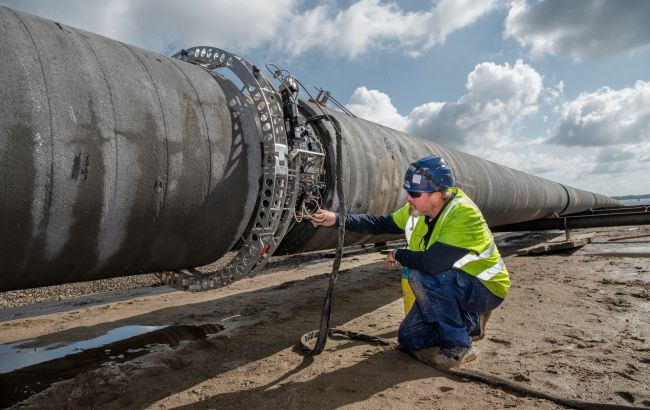 По дну Балтийского моря начали прокладку газопровода Baltic Pipe
