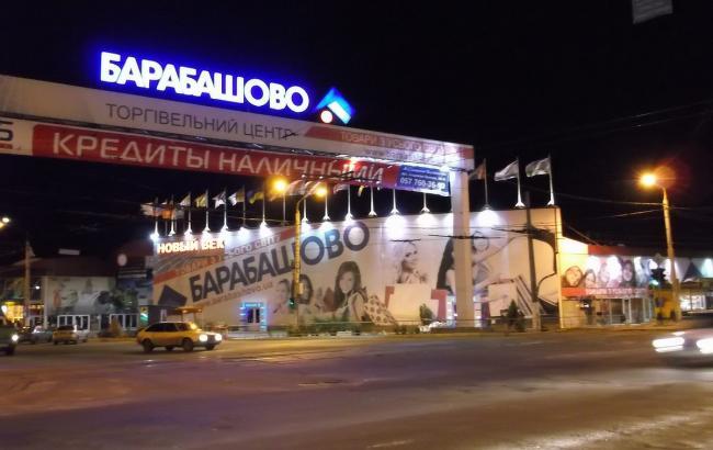"""У Харкові невідомі у військовій формі намагалися захопити ТЦ """"Барабашово"""""""