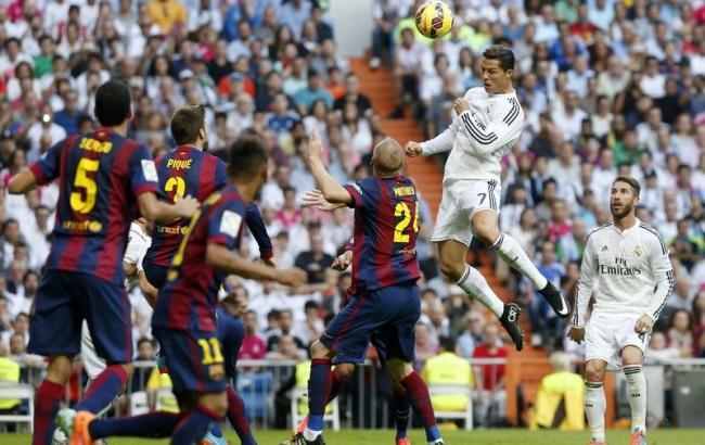 Футбол чемпионат испании прямая трансляция реал мадрид барселона