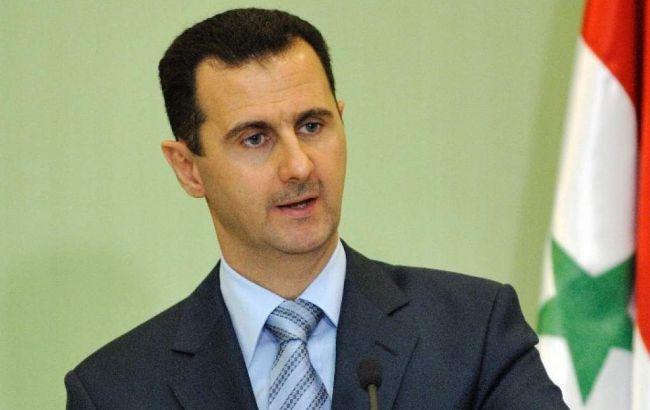 Фото: Башар Асад в Дамаску дав інтерв'ю журналістам