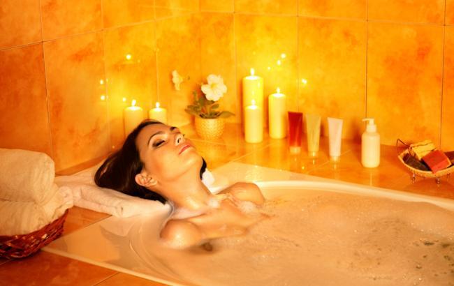 Фото: Примите ванную со свечами