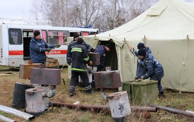 Фото: ликвидация взрывоопасных предметов в Балаклее