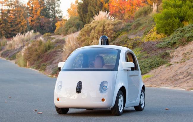 Фото: безпілотний автомобіль Google