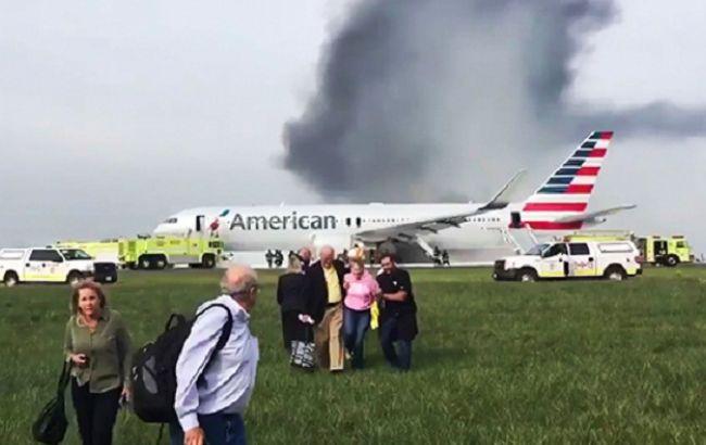 Фото: Boeing 767 в чикагском аэропорту О'Хара