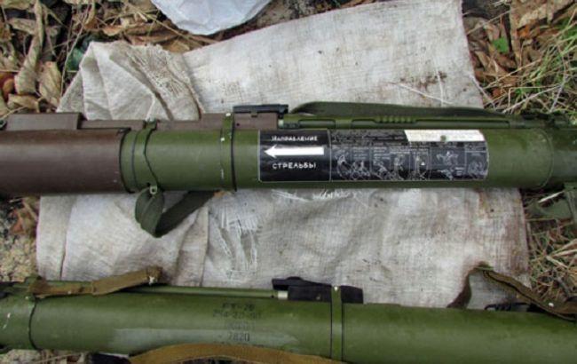 Гражданин Авдеевки хотел обменять найденное оружие напродукты