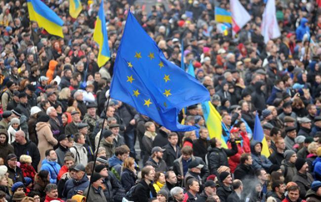 В Украине сегодня отмечают годовщину Евромайдана