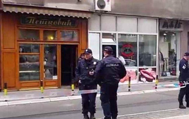 Невідомий підірвав себе в кондитерській в Белграді