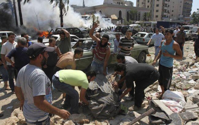 В итоге атаки смертников погибли шесть человек— Теракт вЛиване