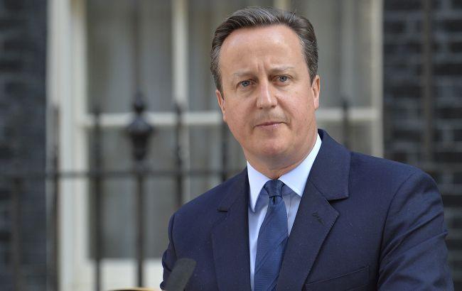 У Британії розпочалося розслідування проти екс-прем'єра Кемерона, - ЗМІ