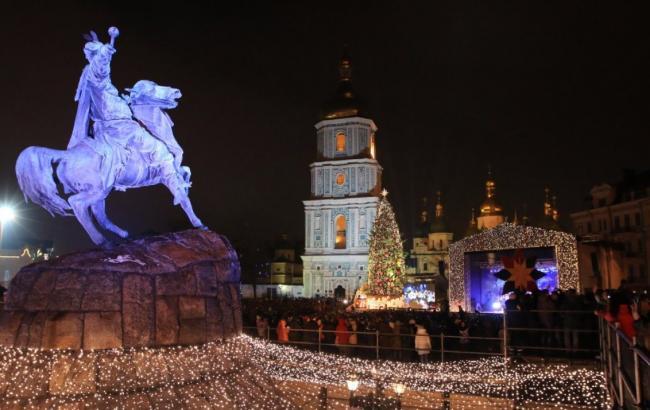 Фото: Рождество в Киеве