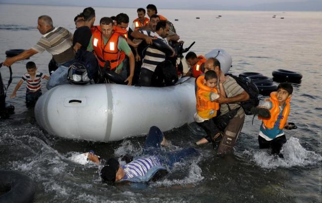 Біля берегів Греції знайшли тіло дитини з сім'ї мігрантів