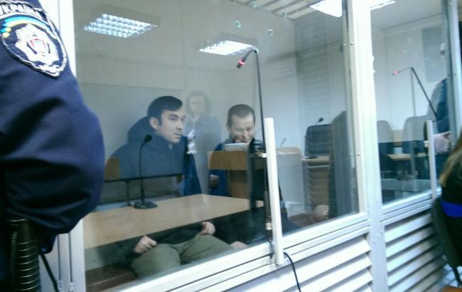 Фото: суд по делу российских ГРУшников