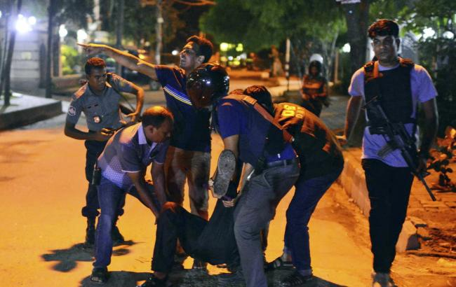 У Бангладеш підтвердили загибель 20 заручників у Дацці