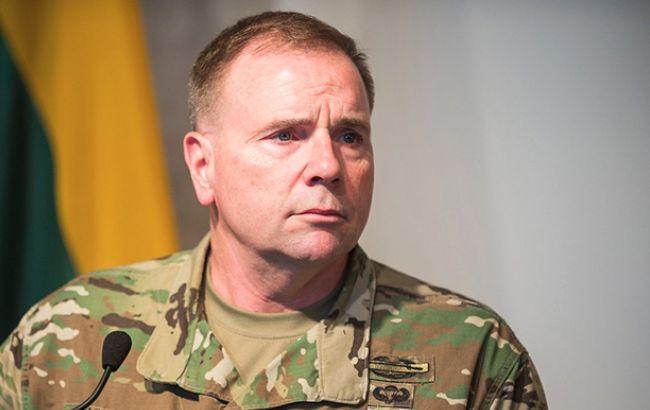 Американський генерал назвав кількість військових, які брали участь внавчаннях Захід