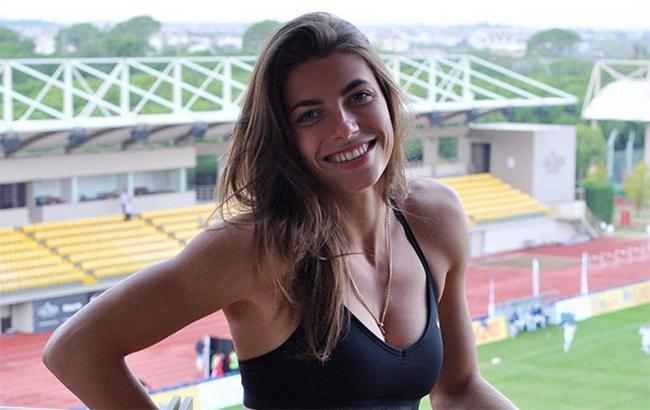 Украинская легкоатлетка покорила Instagram поражающим трюком