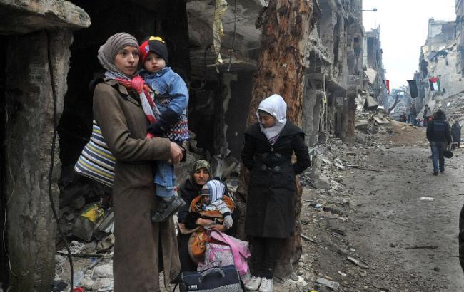 Фото: комиссия ООН расследует химическую атаку на сирийский город