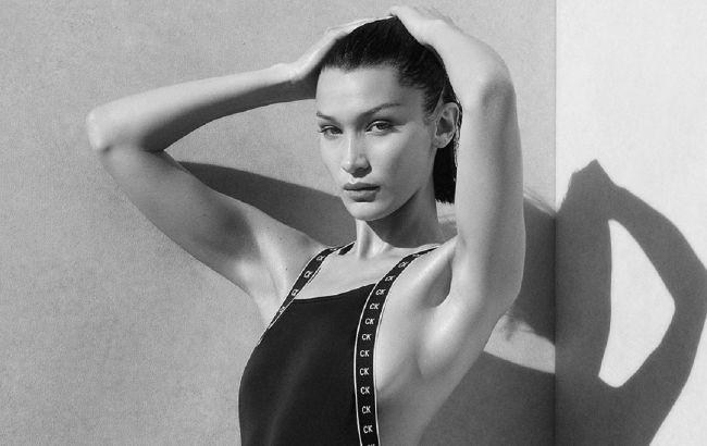 Горячо! Обнаженная Белла Хадид прикрыла совершенное тело сумочкой известного бренда