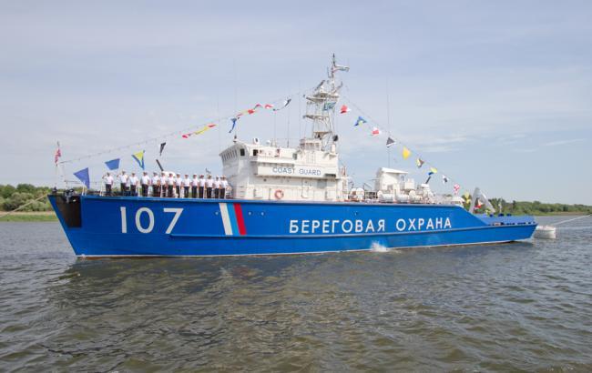 Фото: Госпогранслужба подтвердила задержание украинского судна в аннексированном Крыму