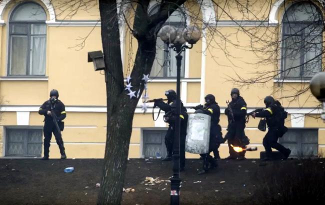 Фото: расстрел Майдана