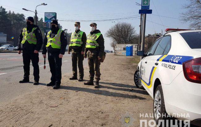 За нарушение карантина в Украине выписали более 30 протоколов
