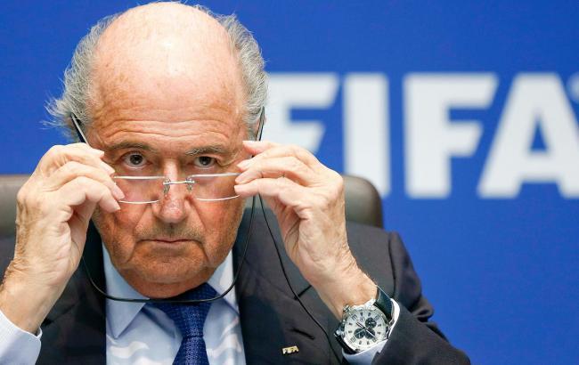 Йозеф Блаттер официально подал заявку на выборы президента ФИФА