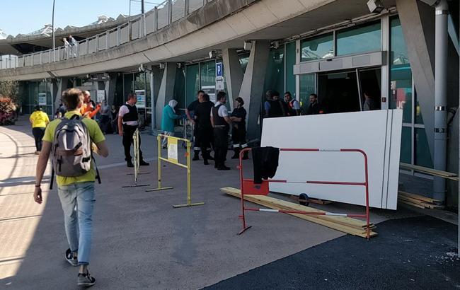 Фото: аеропорт Ліона (twitter com MuminKahraman)