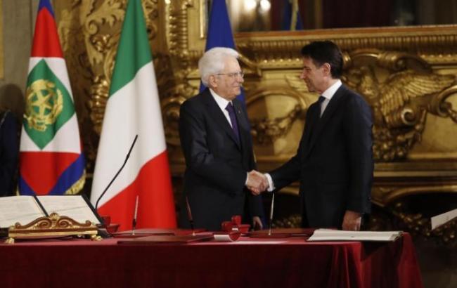 Джузеппе Конте став прем'єр-міністром Італії